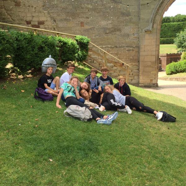 Ballard Warwick Castle relaxing